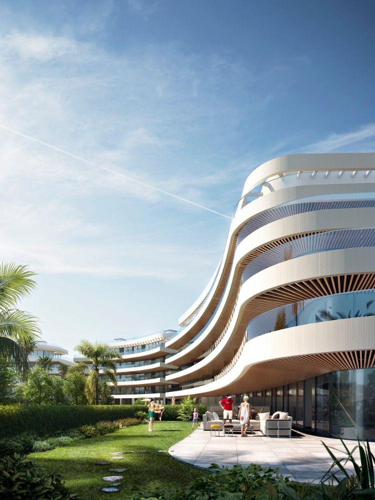 Avant-garde Residential Complex on the Beach in Lexington Realty