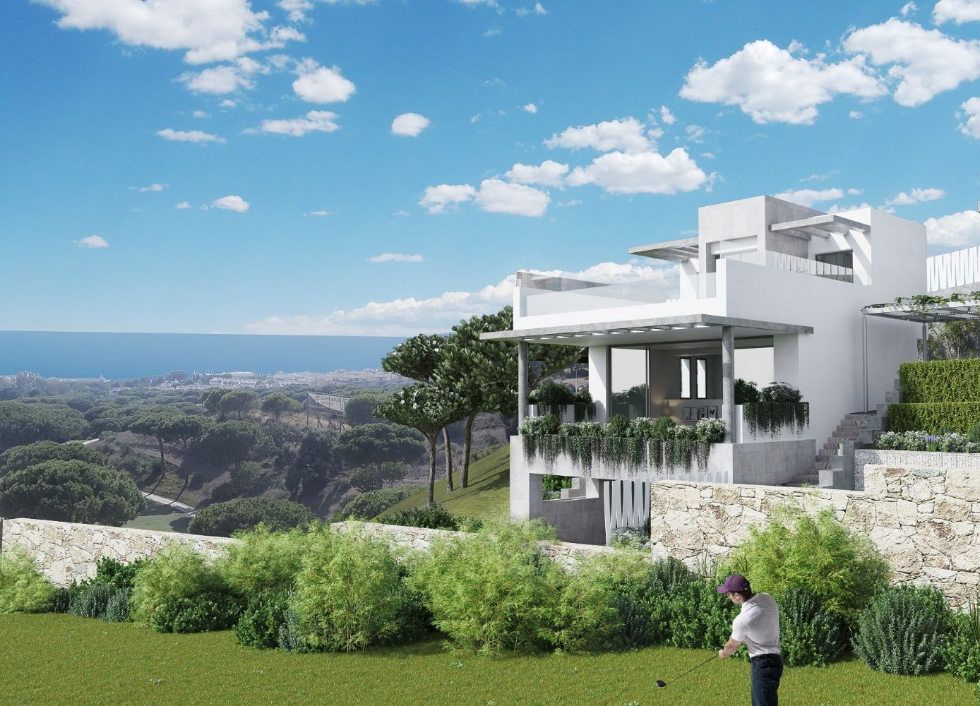 Exclusive Residential Complex with Sea Views in Lexington Realty