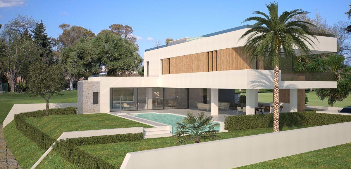 Off Plan Project of Contemporary Villas in Lexington Realty