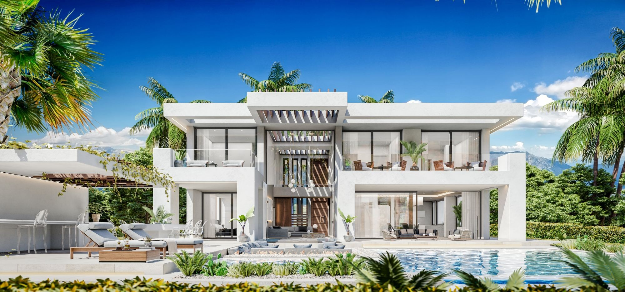 Luxury Villa Project in the New Golden Mile in Lexington Realty