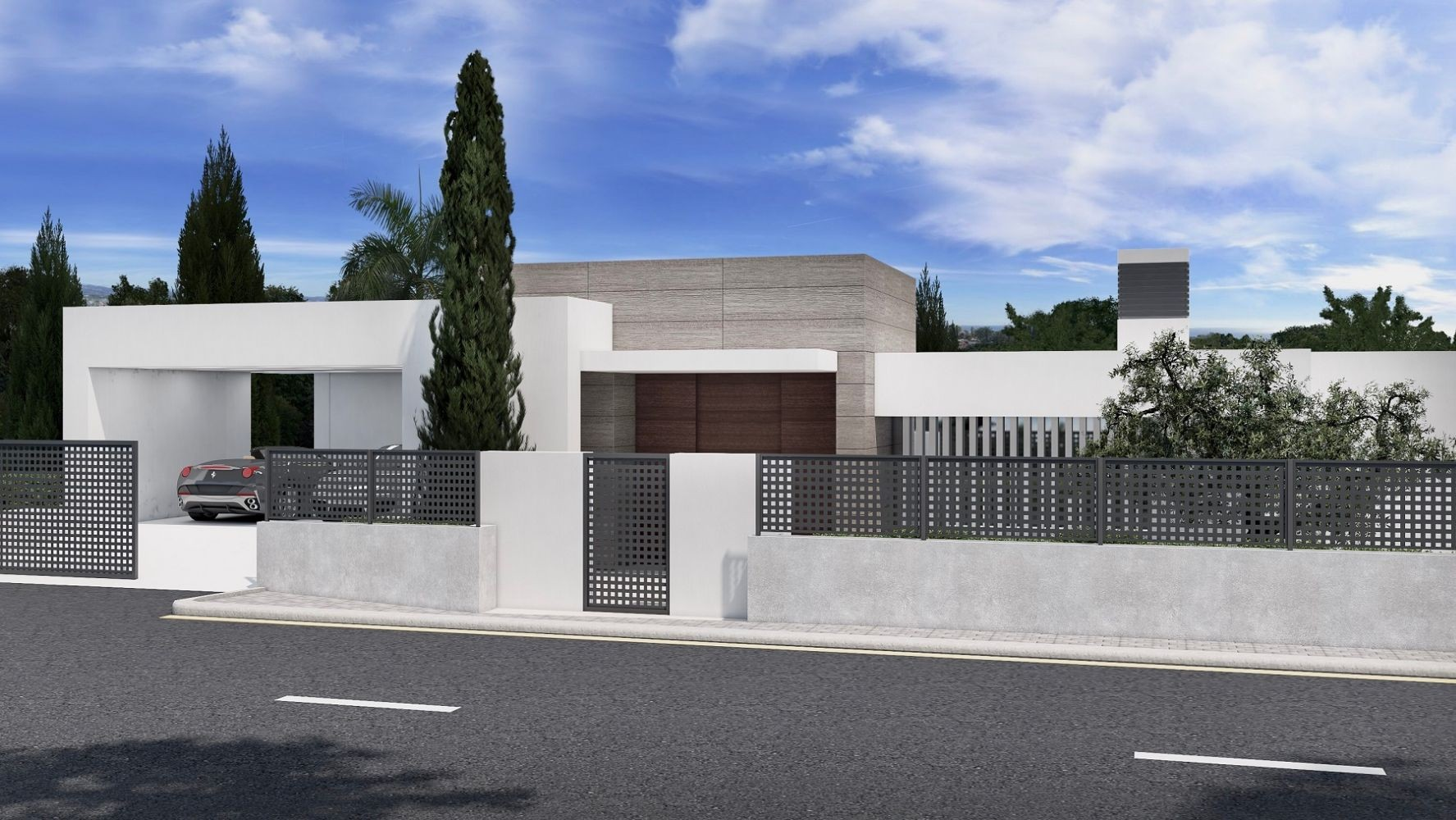 Luxury Modern Villa Project in the New Golden Mile  in Lexington Realty